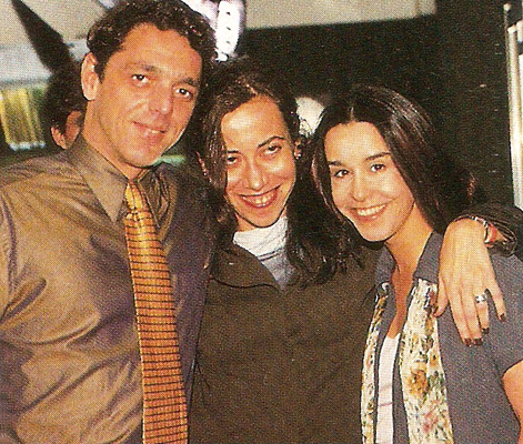 Guilherme Leme, a diretora Tamy Marrachice e Lucélia Santos