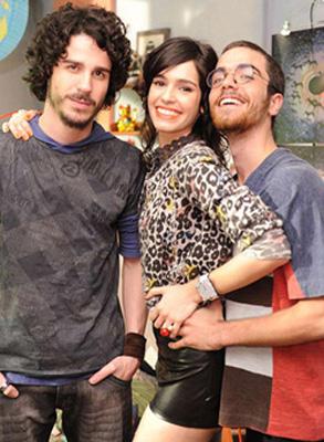 Pedro Neschling, Maria Flor e Bernardo Marinho