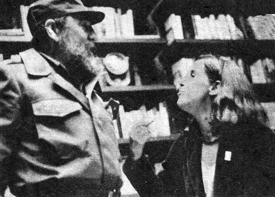 Fidel Castro e Lucélia