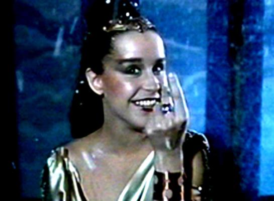 Lucélia Santos como Glorinha