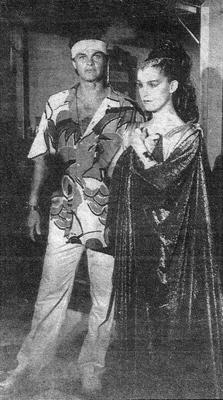 Kadu Moliterno e Lucélia Santos
