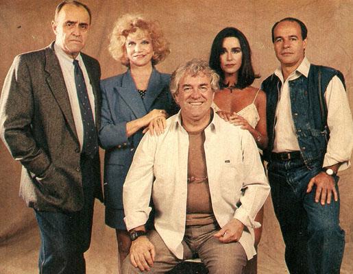 Mauro Mendonça, Tônia Carrero, Juca de Oliveira, Lucélia Santos e Osmar Prado