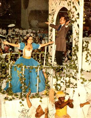 Lucélia Santos, Zeny Pereira e Rubens de Falco ( 1992 )