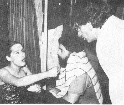 Lucélia Santos, Lula e Fernando Gabeira