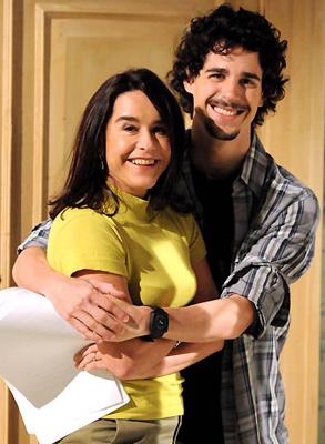 Lucélia Santos e Pedro Neschling