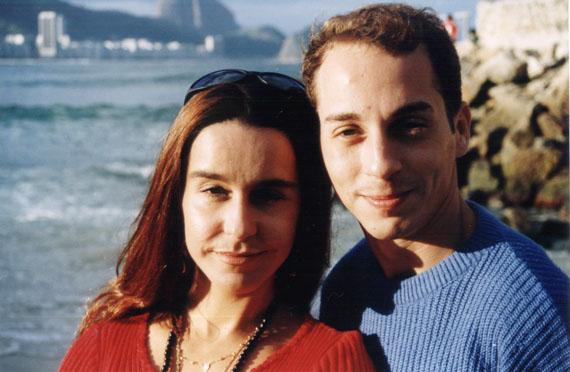 Lucélia Santos e Oberdan Júnior