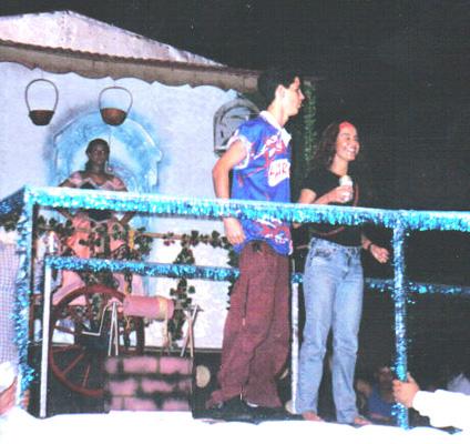 Pedro Neschling e Lucélia Santos