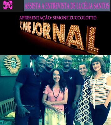 Cine Jornal com Simone Zuccolotto (Canal Brasil)