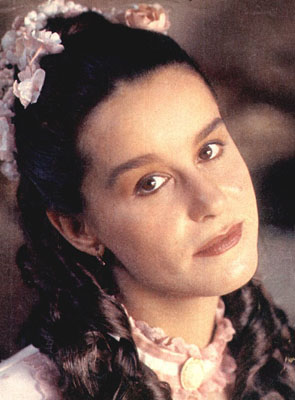 Lucélia Santos como Sinhá Moça