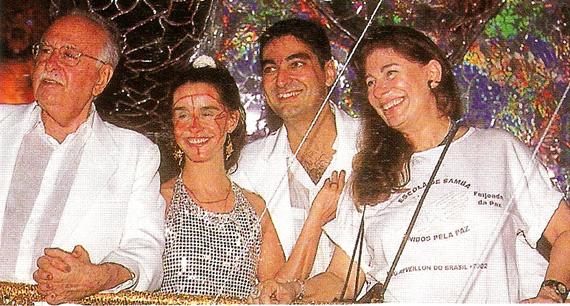 Ariano Suassuna, Lucélia Santos, Zeca Camargo e Ana Maria Tornaghi