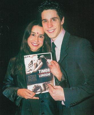 Lucélia Santos e Pedro Neschling no Lançamento do Documentário em São Paulo