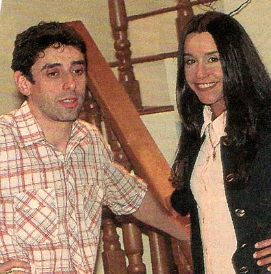 Cássio Scapin e Lucélia Santos