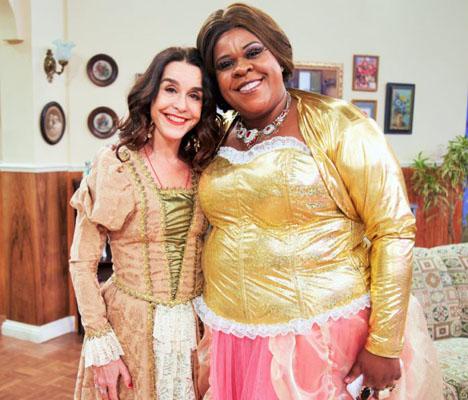 Lucélia Santos e Cacau Protásio