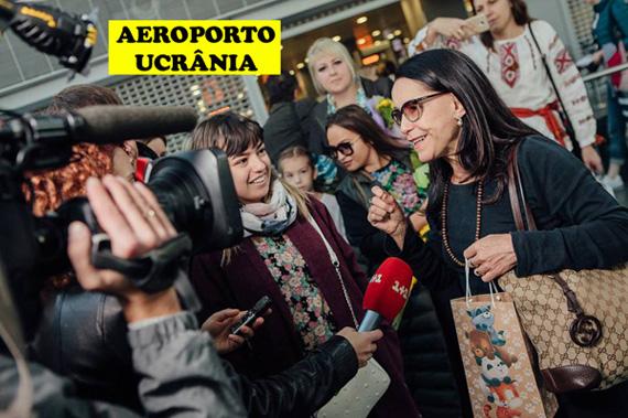 Chegada no Aeroporto da Ucrânia (2018)