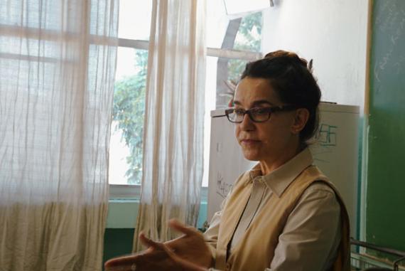 Lucélia Santos Como Professora Maria