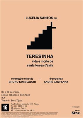 Cartaz da Temporada no Rio de Janeiro